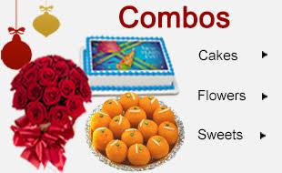 New Yeaar Flowers Cakes Online Delivery