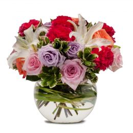 New Year Flowers Online ,Mixed Flower Vase